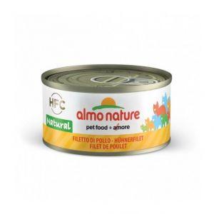 Almo Nature Thon et Poulet, 48 x 70 g lot économique