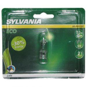 Sylvania Capsule halogène hi pin écologique G9 - 53 W - Halogène capsule, tube