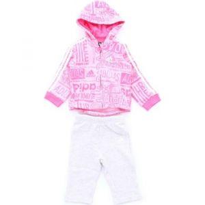 Adidas Ensembles de survêtement Survêtement Graphic Hooded rose - Taille 12 / 18 mois,18 / 24 mois,6 / 9 mois,9 / 12 mois,2 / 3 ans,3 / 4 ans