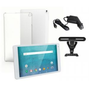 EssentielB Tablette Android Pack Smart'TAB 1005 -Coque+ Support+ CAC