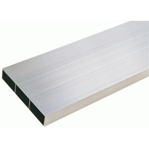 Taliaplast 380202 - Règle aluminium rectangulaire 3 alvéoles 5