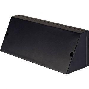 SLV PEMA CARREE applique, noir, E27, max. 15W DECLIC