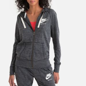 Nike Sweatà capuche entièrement zippé Sportswear Gym Vintage pour Femme - Noir - Taille XS - Female