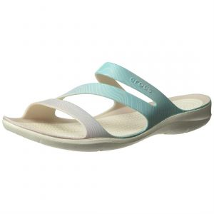 Crocs Tongs Swiftwater Seasonal - Pool Ombre / White - EU 41-42