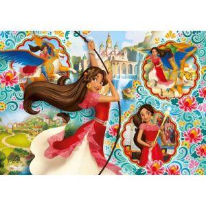 Clementoni Elena d'Avalor - Puzzle 104 pièces Super Color Maxi