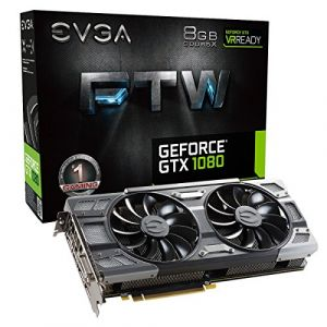 Evga 08G-P4-6286-KR - GeForce GTX 1080 FTW Edition 8 Go GDDR5X PCIe 3.0 x1
