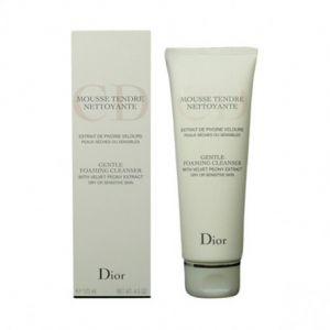 Dior Mousse Tendre Nettoyante - Extrait de pivoine velours peaux sèches ou sensibles