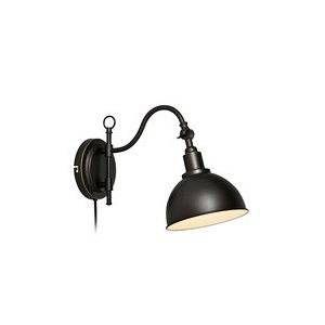 Markslojd Applique orientable en métal noir longueur 42cm Ekelund
