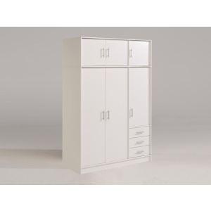 Armoire Tornade 6 portes battantes et 3 tiroirs