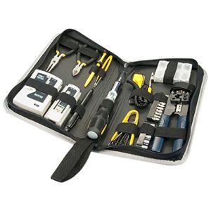 Lindy 43057 - Kit d'outils réseau et universel (54 pièces)