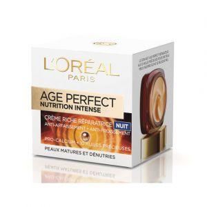 L'Oréal Age Perfect Nutrition Intense Nuit Action ciblée, 60 ans et + 50 ml