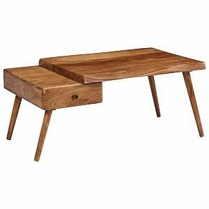 VidaXL Table basse Bois d'acacia massif 100 x 60 x 45 cm