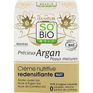 So'Bio Étic Précieux Argan peaux matures Crème nutritive nuit