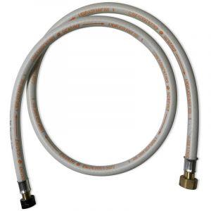 Alice's Garden Flexible gaz NF, tuyau à embouts mécaniques, élastomère renforcé, G1/2 - M20x1,5 , Validité 10 ans, joints inclus, propane ou butane, 1,5m -