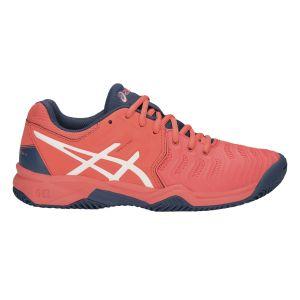 Asics Chaussures de tennis/padel GelResolution 7 Clay GS Orange - Taille 36
