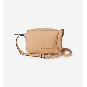 Calvin Klein Sac Bandouliere Jeans MUST PSP20 CAMERABAG NY Beige - Taille Unique