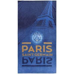 Drap de bain Paris Tour Eiffel PSG (85 x 160 cm)