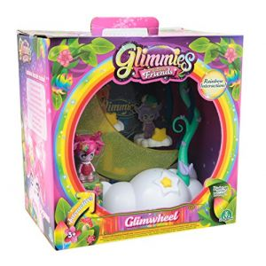 Giochi Preziosi Glimmies GLN05 Figurine Glimroue Rainbow Friends