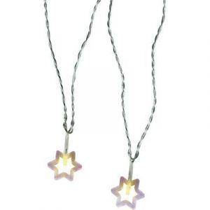 Polarlite 711776 - Guirlande lumineuse à motifs étoiles LED pour l'intérieur secteur blanc chaud 10.7 m