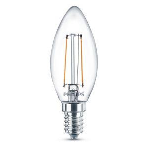Philips Ampoule bougie LED 3 pcs Classique 2 W 250 Lumens 929001238373