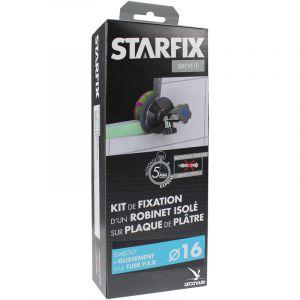 """Arcanaute Sortie de cloison STARFIX PER Ø16 Raccord à Glissement - Femelle 1/2"""""""" (15/21) pour robinet"""