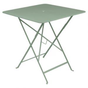 Fermob Table pliante Bistro / 71 x 71 cm - Trou pour parasol cactus en métal