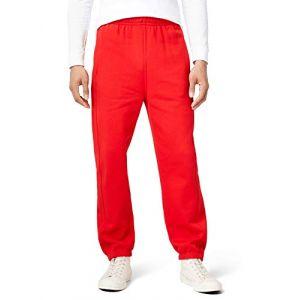 Urban classics Sweatpants, Pantalon De Sport coupe large Homme, Rouge (Red), 5XL