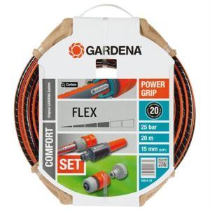 Gardena 18044-26 - Tuyau d'arrosage Flex Ø 15 mm 20 m