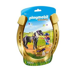 Playmobil 6970 Country - Poney à décorer étoile