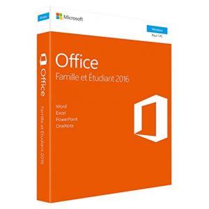 Office Famille et Etudiant 2016 pour Windows