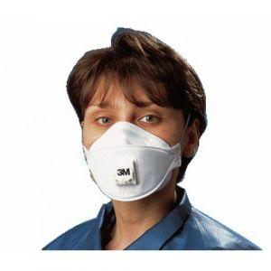 3M K9322 - Masque aura ffp2 anti poussière pliable avec valve (boîte de 10)