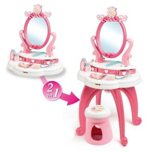 Smoby Coiffeuse 2 en 1 - Disney Princesses