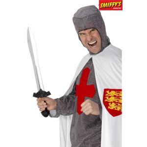 Smiffy's Épée chevalier noir 56 cm