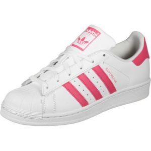 Adidas Superstar J, Chaussures de Fitness Mixte Enfant, Blanc