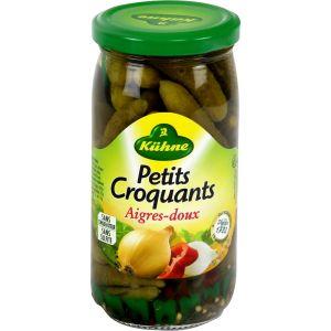 Kühne Petits Croquants Aigres-Doux 185 g