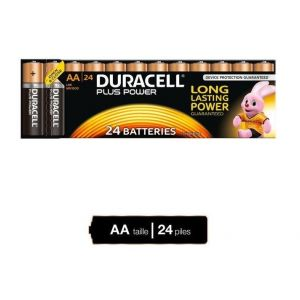 Duracell Piles Plus Power AA X24