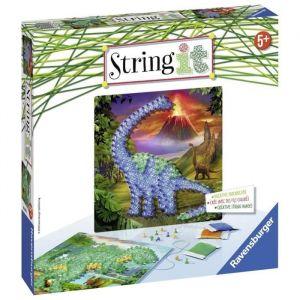 Ravensburger STRING IT midi Dinosaures Suivez La tendance du String Art !