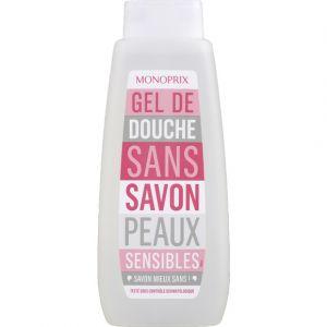 Monoprix Gel de douche sans savon pour peaux sensibles - Le flacon de 500ml