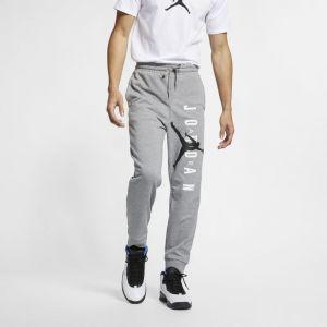 Nike Pantalon en tissu Fleece léger Jordan Jumpman Air pour Homme - Gris - Couleur Gris - Taille XL