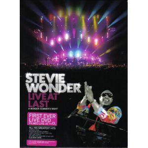 Stevie Wonder : Live at Last, A Wonder Summer's Night