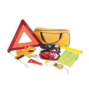 Silverline 933429 - Kit d'urgence voiture 9 pièces