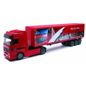 New Ray 15113 - Camion remorque Mercedes - Actros 1857 - Echelle 1:43