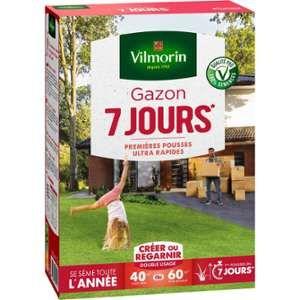 Vilmorin 4460714 Gazon 7 Jours, Vert, 1 kg