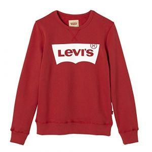 Levi's Sweat-shirt enfant SWEAT NOS BATWI rouge - Taille 12 ans,14 ans