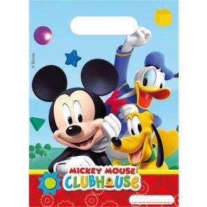 6 sacs plastique Mickey Mouse
