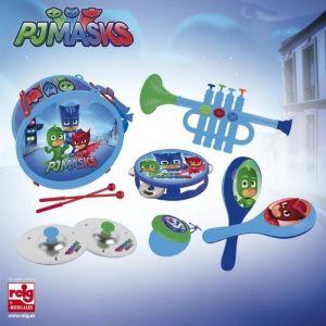 Reig Musicales Ensemble de musique Pyjamasques (Xilophone 8 notes, tambour, saxophone, maracas)