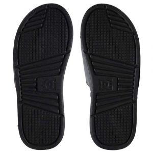 DC Shoes Claquettes BOLSA M SNDL XKSR Noir - Taille 39,42,43,46,40 1/2,47,44 1/2,48 1/2
