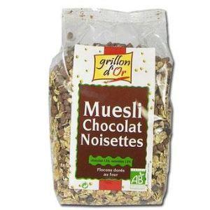 Grillon d'Or Muesli chocolat Bio (500 g)