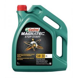 Castrol Huile moteur Magnatec Stop-Start A5 5W30 Essence et Diesel 5 L