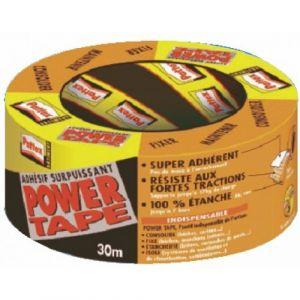 Pattex Power Tape - Ruban adhésif bâtiment 30m gris